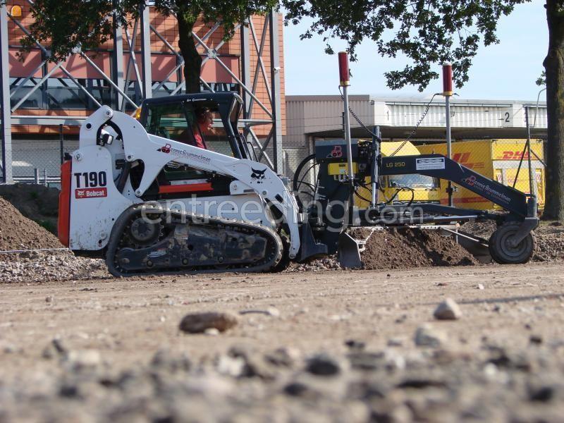 Motorgrader Bobcat T 190  rupsgrader