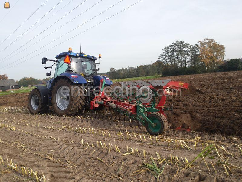 New Holland + 4schaar