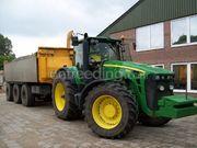Tractor + kipper John deere + Peecon