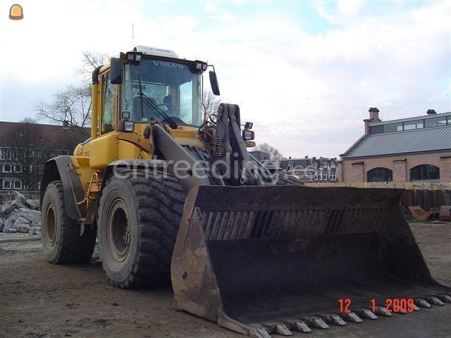 Wiellader / shovel Volvo L90E