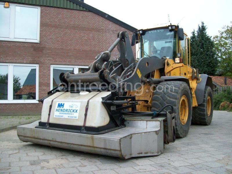 Aanbouw veegmachines Holms 300