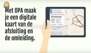 Communiceren via applicat... Omgeving Genk