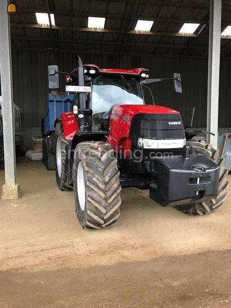 Tractor met 3asser