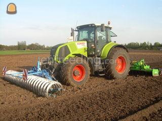 Tractor + rotorkopeg Omgeving Barneveld