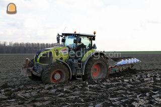 Tractor + Ploeg Omgeving Barneveld