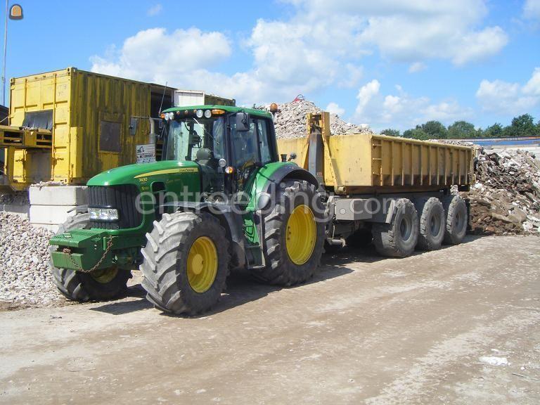 Tractor + carrier Tractoren + carrier