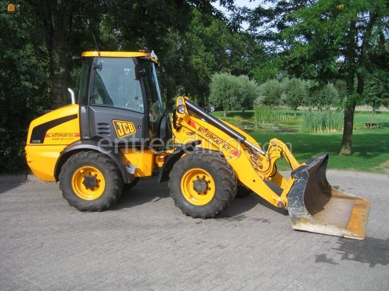 Wiellader / shovel JCB 409