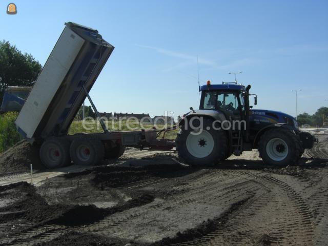 Tractor + kipper NH T7550 + VGM (kleppen)