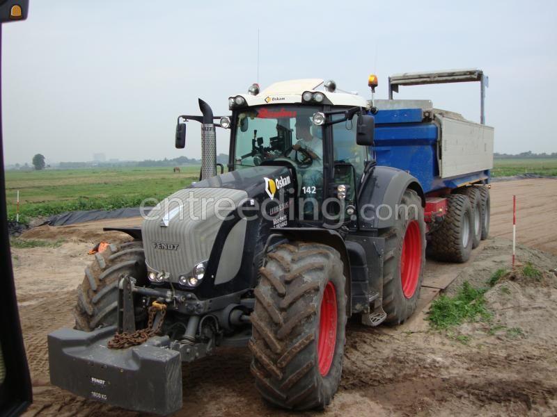 Tractor + kipper Fendt 936 + VGM 3-asser