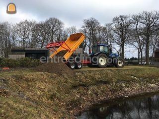 Trekker en dumpertje Omgeving Groningen Noord-Midden