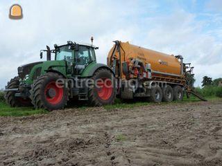 Fendt 936 met Veenhuis 3 ... Omgeving Breda