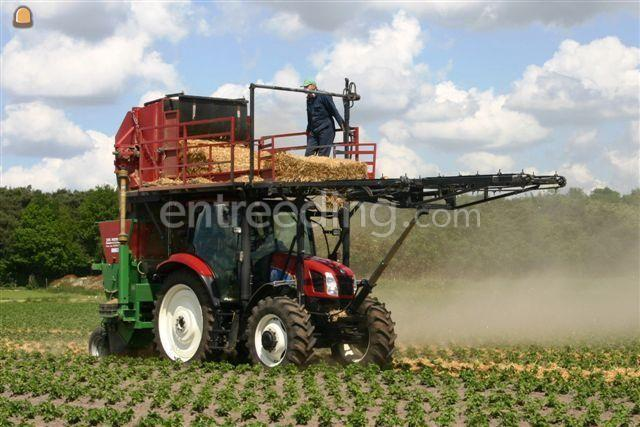 Tractor + strodekkers NH T6010