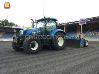 Tractor + kilverbak Mekos... Omgeving De IJsselsteden