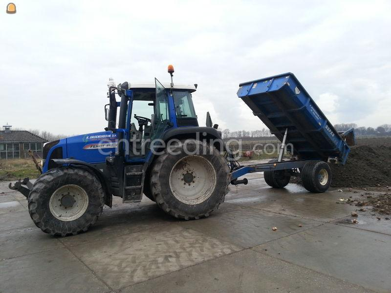Tractor + beco S-450