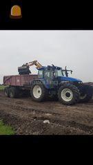 New holland ts115 Omgeving Lemmer