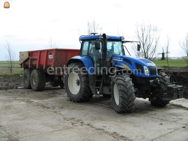 Tractor + kipper Beco 240 14m3 met NH trekker