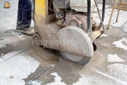 boorwerken, zaagwerken in beton,  asfalt