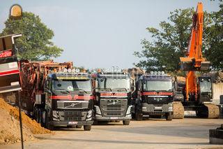 transport van grond, gran... Omgeving Herentals, Turnhout