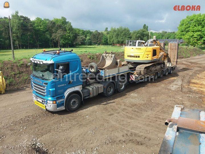 Semidieplader- transport tem 45 ton