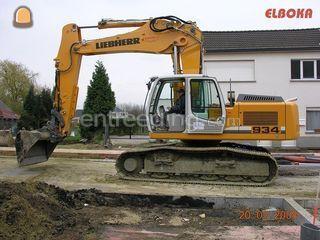 Liebherr 934 Omgeving Herentals, Turnhout