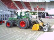 Tractor + kilver Fendt 208 FA + midikilver