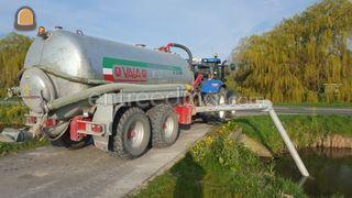 waterwagen met arm Omgeving Voorne-Putten