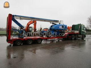 Volvo & oplegger met beun... Omgeving Amsterdam