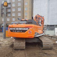 Doosan DX235LC & GPS & Ov... Omgeving Amsterdam