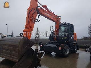 Hitachi  Zaxis 140W met o... Omgeving Amsterdam