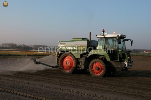 Tractor + bemester Fendt 410 Special
