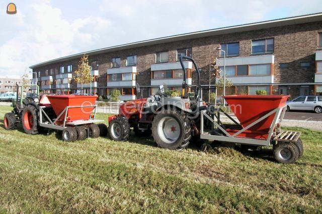 Tractor + plantmachine McCormick