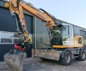 Liebherr A 914 Litronic Omgeving Oosterhout