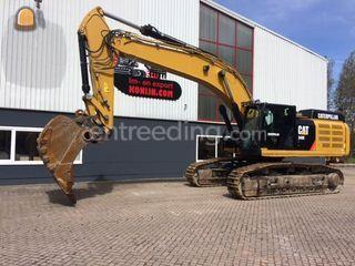 Caterpillar 349EL Omgeving Beverwijk