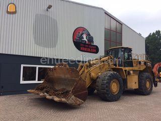 Caterpillar 988G Omgeving Beverwijk