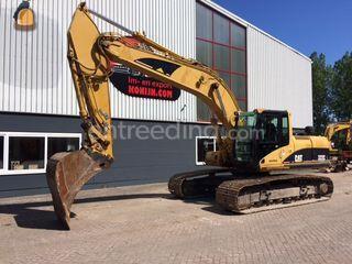 Caterpillar 322CL Omgeving Beverwijk