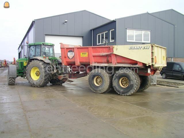 Tractor + kipper Beco 240