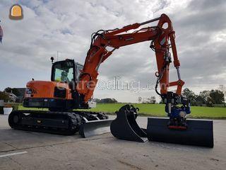 Doosan 8,5 ton Omgeving Langedijk