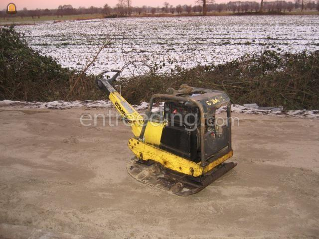 Trilplaten Bomag 0 - 5 ton