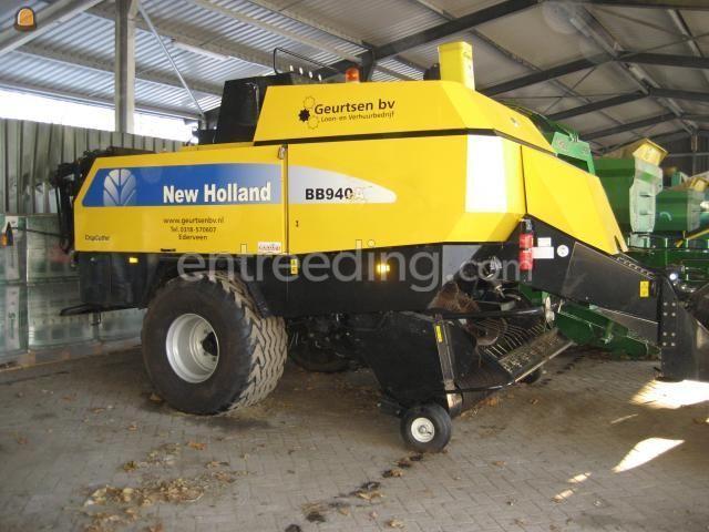Tractor + balenpers rechthoekig bb 940