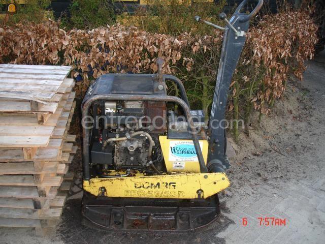 Trilplaten Bomag BPR55/52D
