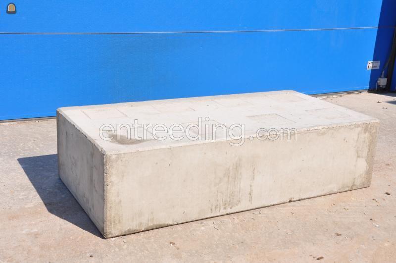 Stapelblokken Betonblok 1.60x80x40 - glad