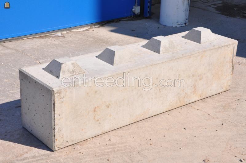 Stapelblokken Betonblok 1.60x40x40 - 4 nokken