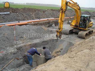 grondwerkers Omgeving Zaanstreek