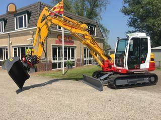 Takeuchi TB290 / overduk Omgeving Purmerend