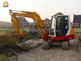 Takeuchi TB250 Omgeving Purmerend