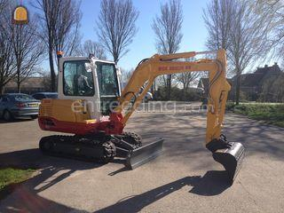 Takeuchi TB235 Omgeving Purmerend