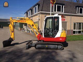 Takeuchi TB235 /overdruk Omgeving Purmerend