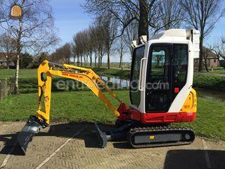 Takeuchi TB216 /overdruk Omgeving Purmerend