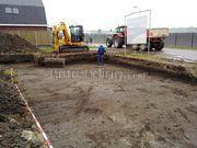 uitgraven bouwput tbv huis Allure bouw