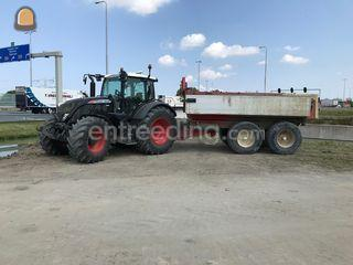 Fendt 718 S4 BECO Max12 M... Omgeving Westland